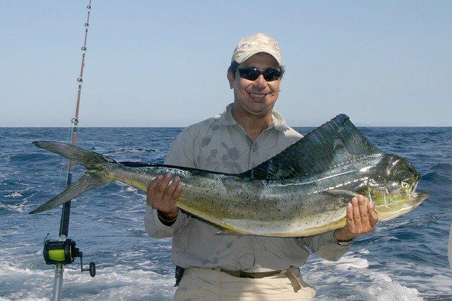 spokojený rybář