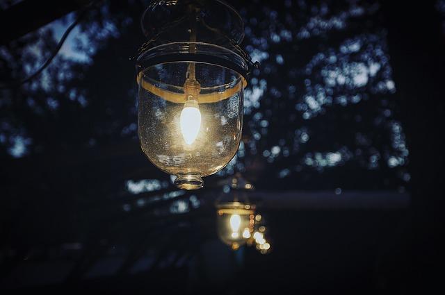 detail světla