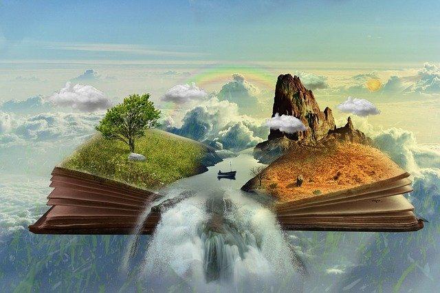 příroda z knihy