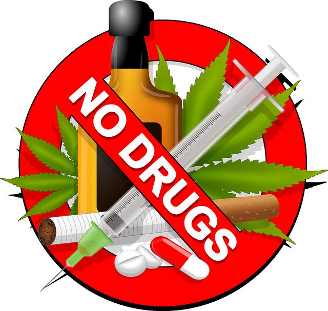 žádné drogy znamení