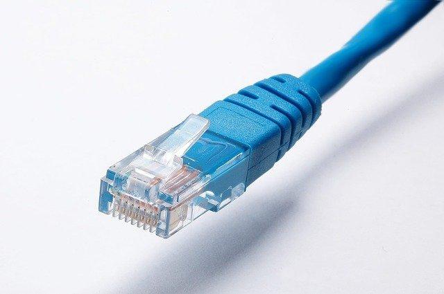 kabel modrý