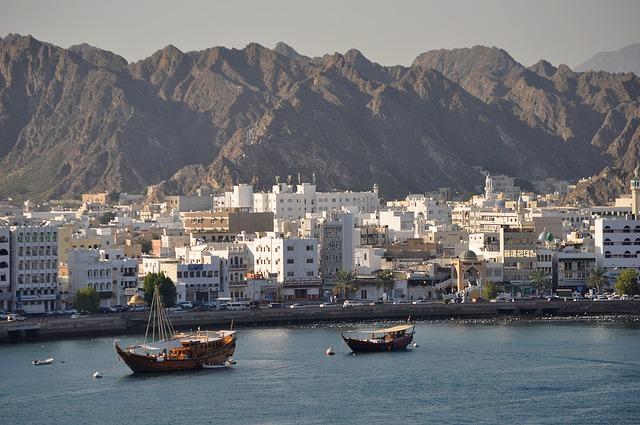 omán přístav