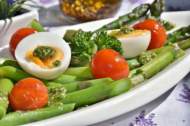 zelenina s vejci