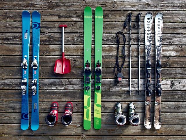lyžařská výbava
